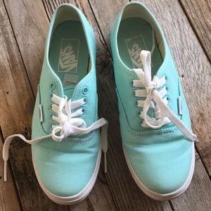 Vans Mint Sneakers NEW